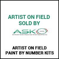 Artist on Field Paint By Number Kits