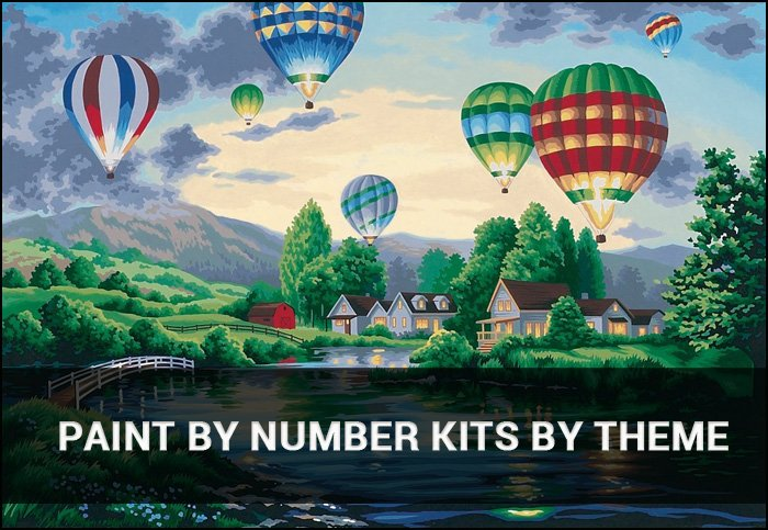 Paint By Number Kits By Theme