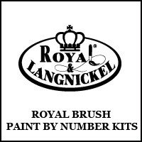 Royal Brush Paint By Number Kits