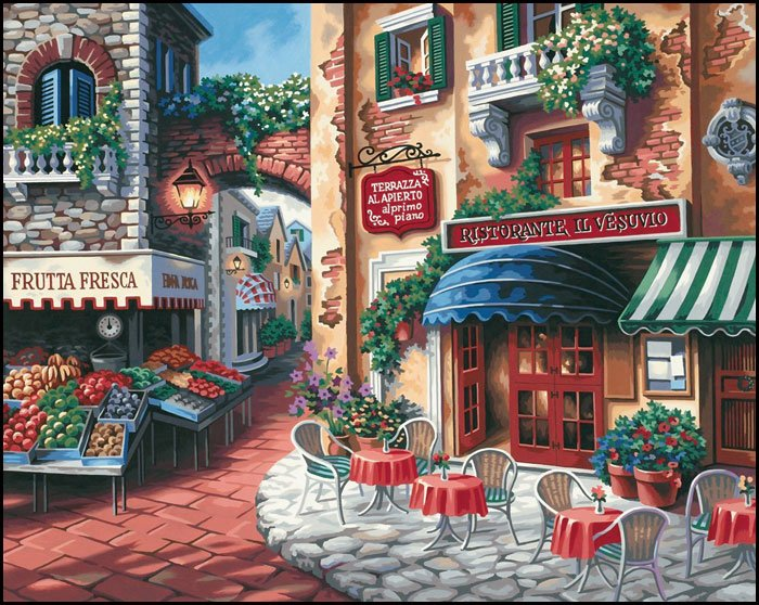 Scenery Paint By Number Kits