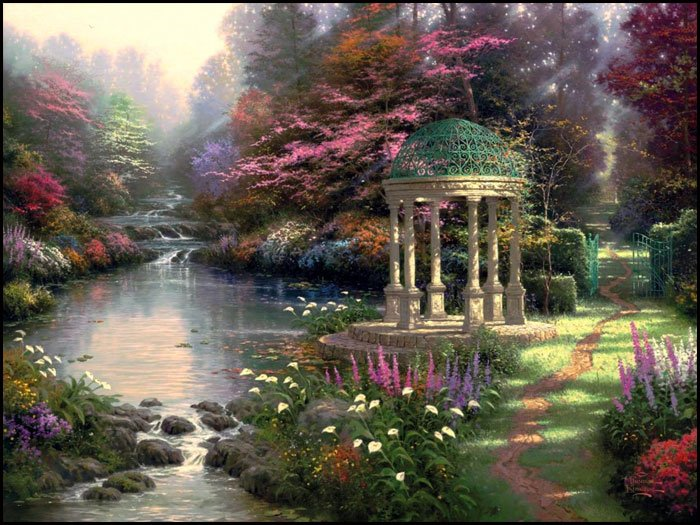 Thomas Kinkade Paint By Number kits