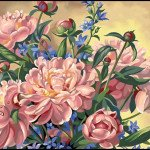 Flower Paint By Number Kits