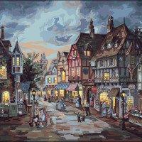 Barrington Street-Plaid Paint by Number Kits