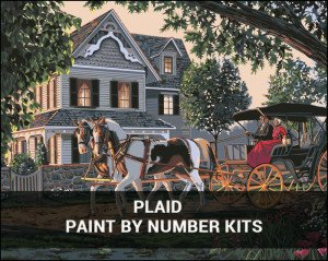 Plaid Paint By Number Kits