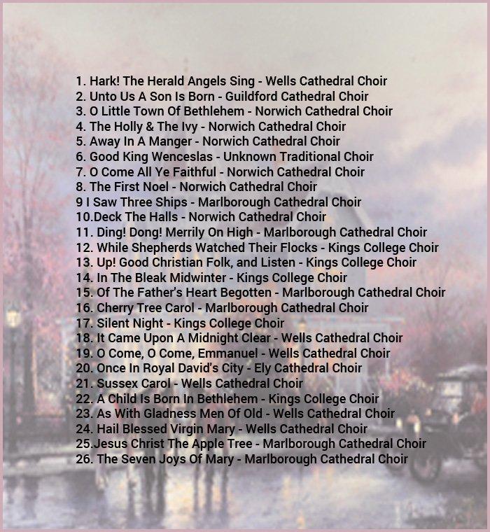 26 Traditional Christmas Carols