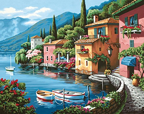 Scenery Paint By Number Kits Absolutely Beautiful