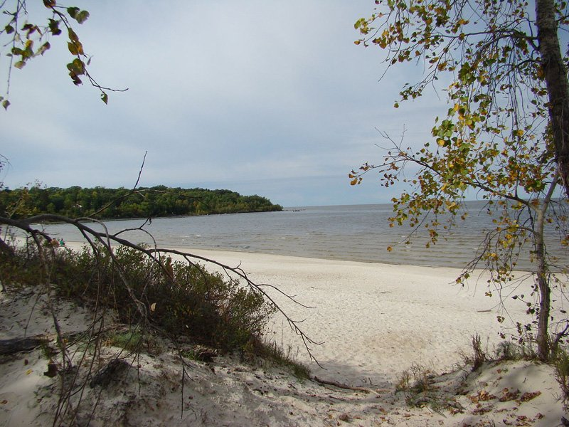 Grand Beach on Lake Winnipeg