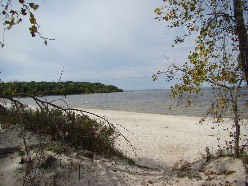Grand Beach on Lake Winnipeg
