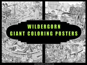Wildergorn Giant Coloring Posters