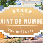 Beach Paint By Number Kits