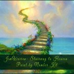 Jim Warren Stairway to Heaven Paint by Number Kit