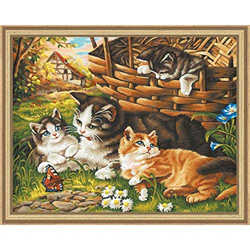 Cat Paint By Number Kits Puurrrfect For All You Cat Lovers