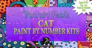 Cat Paint By Number Kits
