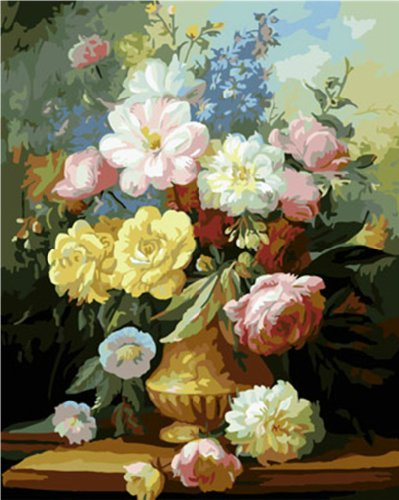 Flower Paint By Number Kits Paint By Number For Adults