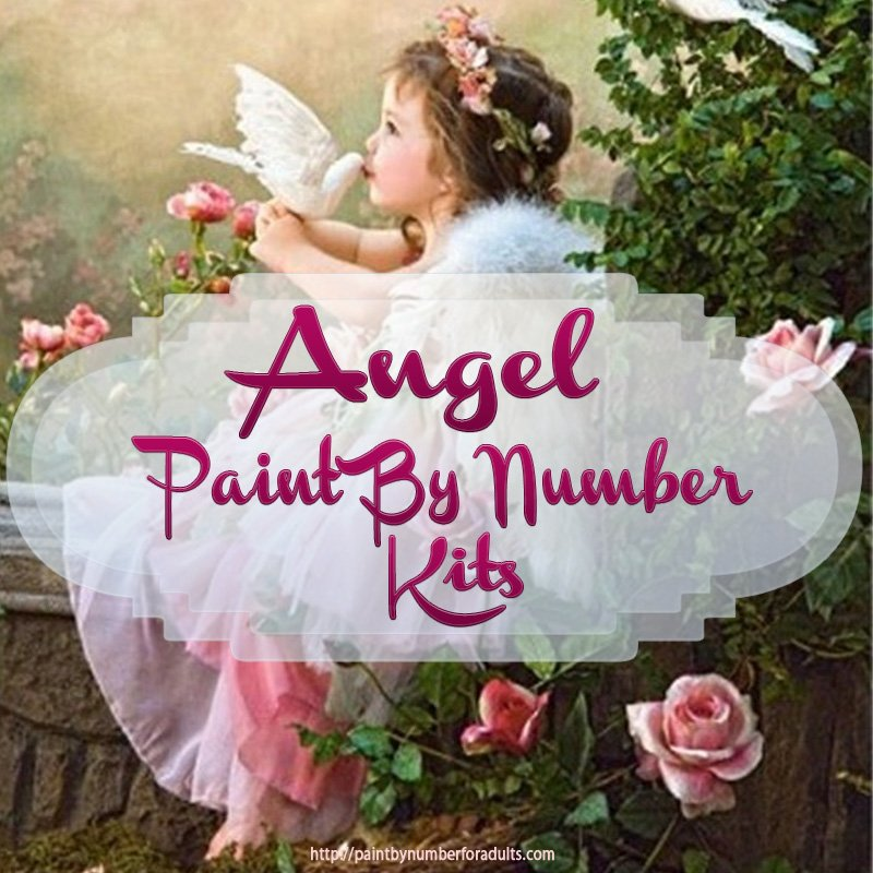 Angel Paint By Number Kits