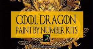 Dragon Paint by Number Kits