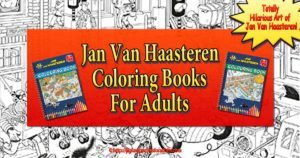 Jan Van Haasteren Coloring Book