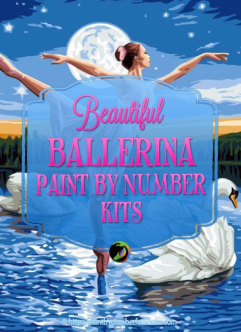 Ballerina Paint By Number Kits