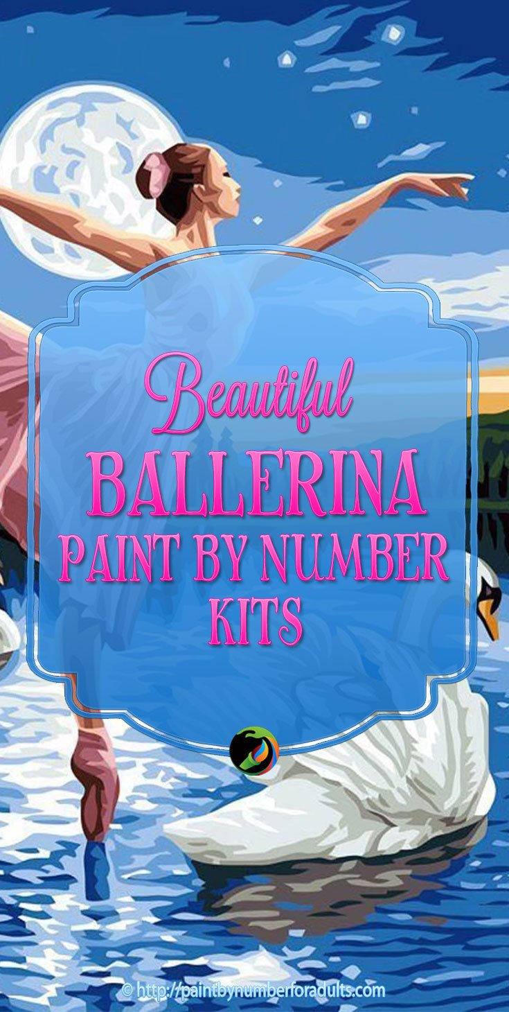 Ballerina Paint By Number Ki