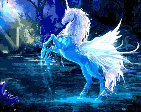 Unicorn  S Drawing Spray Paint
