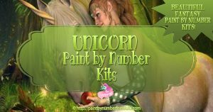 Unicorn Paint By Number Kits