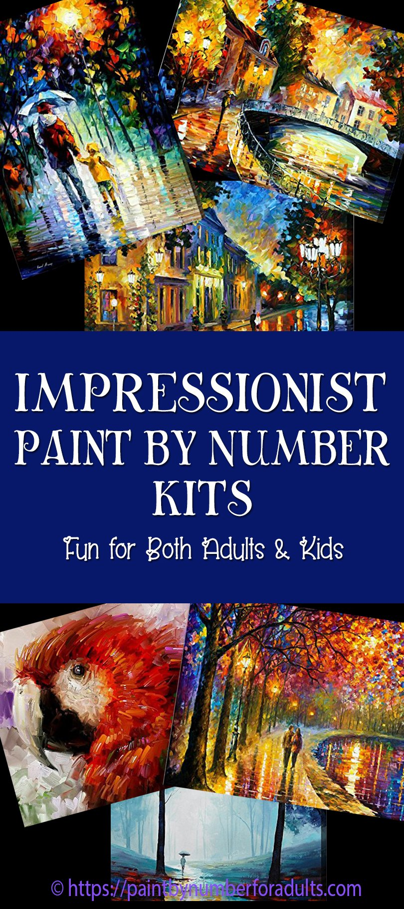 Impressionist Paint by Numbers
