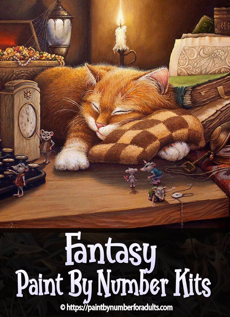 Fantasy Paint By Number Kits