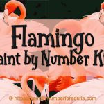 Flamingo Paint By Number