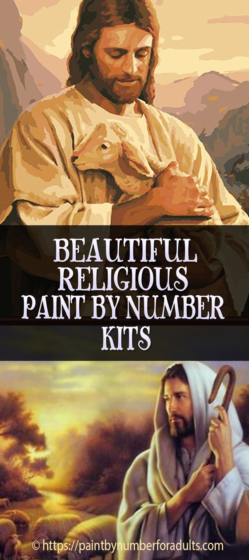 Religious Paint By Number Kits