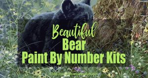 Paint by Number Kits of Bears