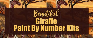 Giraffe Paint by Number Kits