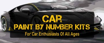 Car Paint by Number Kits