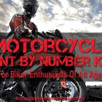 Motorcycle Paint By Number Kits